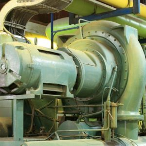 Centrif. maintenance and shaft seal replacement - Chiller repair