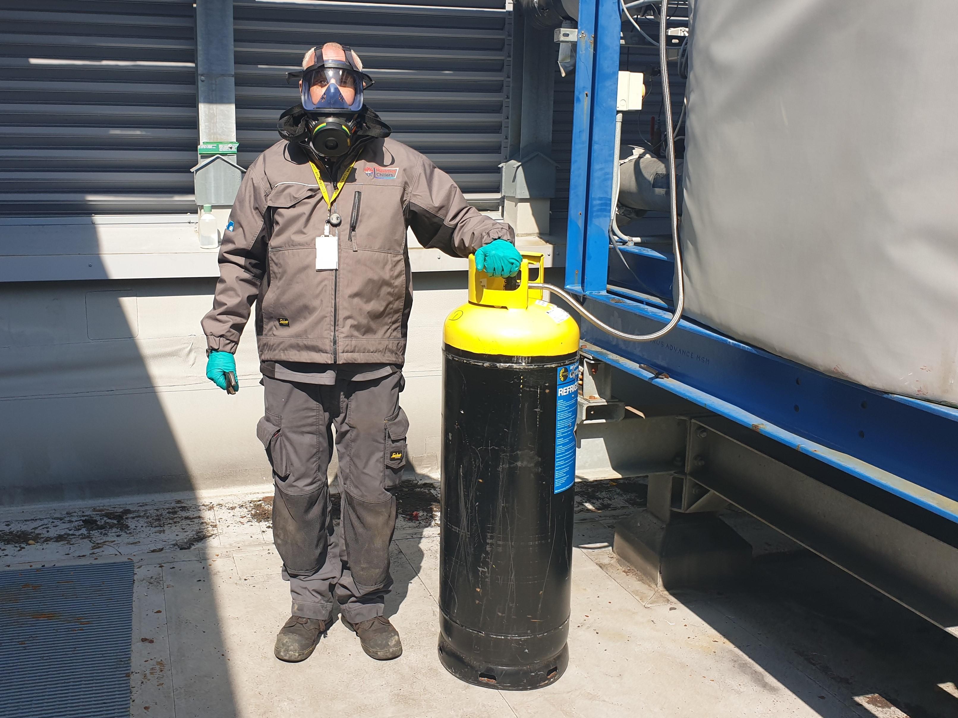 Ammonia Refrigerant Charging