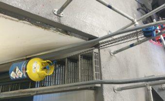Industrial Refrigeration Ammonia Service Cat Ladder